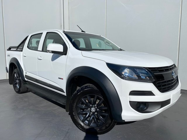 Used Holden Colorado RG MY18 LS Pickup Crew Cab Liverpool, 2018 Holden Colorado RG MY18 LS Pickup Crew Cab White 6 Speed Sports Automatic Utility