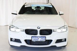 2016 BMW 3 Series F31 LCI 330i Touring M Sport White 8 Speed Sports Automatic Wagon
