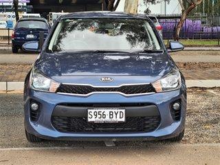 2017 Kia Rio YB MY17 S Blue 4 Speed Sports Automatic Hatchback.