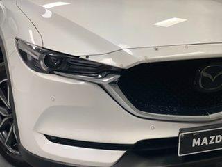 2017 Mazda CX-5 KF4WLA Akera SKYACTIV-Drive i-ACTIV AWD Snowflake White Pearl 6 Speed.