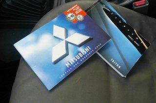 2005 Mitsubishi Triton MK MY05.5 GLX-R Double Cab Silver 5 Speed Manual Utility