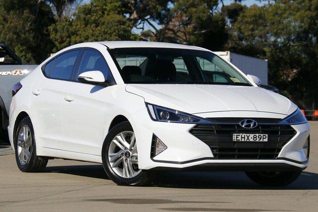 Used Hyundai Elantra AD.2 MY20 Active Chullora, 2019 Hyundai Elantra AD.2 MY20 Active White 6 Speed Sports Automatic Sedan