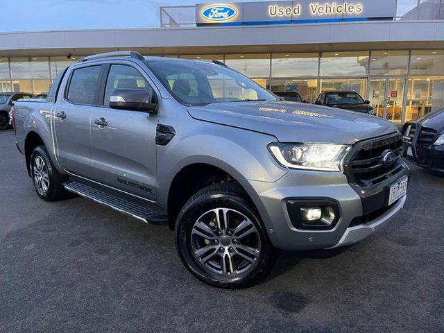Used Ford Ranger PX MkIII 2020.25MY Wildtrak Essendon Fields, 2020 Ford Ranger PX MkIII 2020.25MY Wildtrak Silver 10 Speed Sports Automatic Double Cab Pick Up