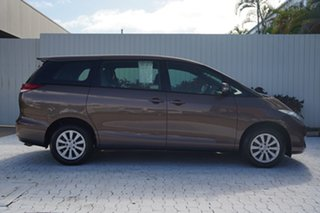 2017 Toyota Tarago ACR50R GLi Brown 7 Speed Constant Variable Wagon.