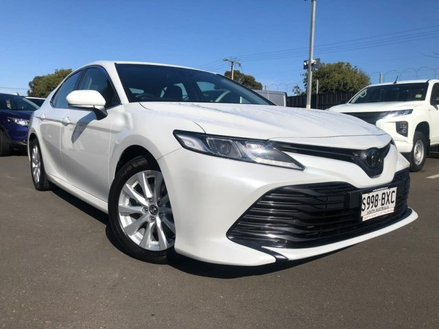 Used Toyota Camry ASV70R Ascent Hillcrest, 2018 Toyota Camry ASV70R Ascent White 6 Speed Sports Automatic Sedan