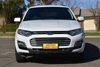 2016 Ford Territory SZ MkII TX Seq Sport Shift White 6 Speed Automatic Wagon.