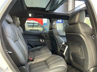 2016 Land Rover Range Rover Sport L494 HSE Dynamic White Sports Automatic Wagon