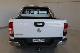 2017 Holden Colorado RG MY18 LTZ Pickup Space Cab White 6 Speed Sports Automatic Utility
