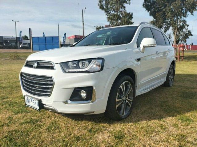 Used Holden Captiva CG MY18 LTZ AWD Melton, 2018 Holden Captiva CG MY18 LTZ AWD White 6 Speed Sports Automatic Wagon
