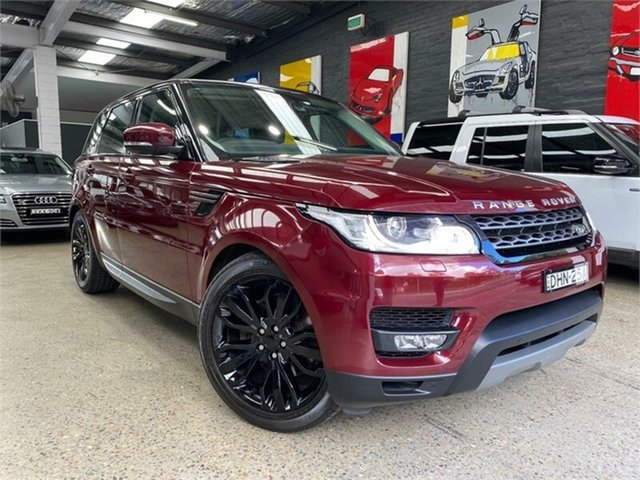 Used Land Rover Range Rover Sport L494 SE Glebe, 2016 Land Rover Range Rover Sport L494 SE Red Sports Automatic Wagon