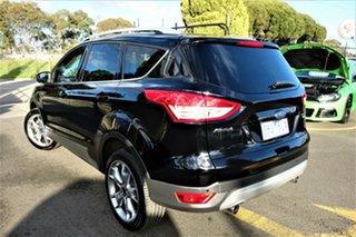2016 Ford Kuga TF MY16.5 Titanium PwrShift AWD Black 6 Speed Sports Automatic Dual Clutch Wagon