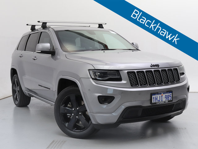 Used Jeep Grand Cherokee WK MY15 Blackhawk (4x4), 2015 Jeep Grand Cherokee WK MY15 Blackhawk (4x4) Silver 8 Speed Automatic Wagon