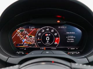 2019 Audi S3 8V MY18 S/Back 2.0 TFSI Quattro Blk Ed White 7 Speed Auto S-Tronic Hatchback