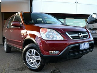 2004 Honda CR-V RD MY2004 Sport 4WD Red 4 Speed Automatic Wagon.