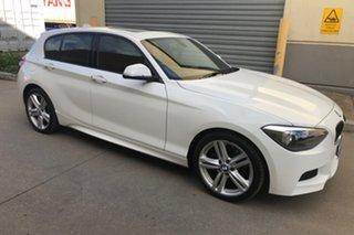 2012 BMW 1 Series F20 125i Steptronic White 8 Speed Sports Automatic Hatchback.