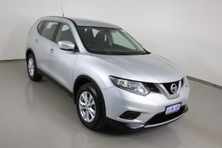 2016 Nissan X-Trail T32 ST (FWD) Silver Continuous Variable Wagon