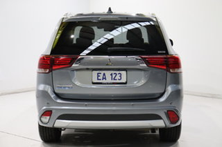 2017 Mitsubishi Outlander ZK MY18 Exceed PHEV Grey 1 Speed Automatic Wagon