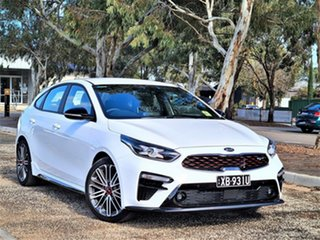 2021 Kia Cerato BD MY21 GT DCT Clear White 7 Speed Sports Automatic Dual Clutch Hatchback.