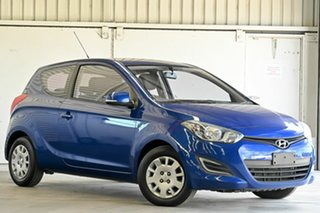 2015 Hyundai i20 PB MY15 Active Blue 4 Speed Automatic Hatchback.