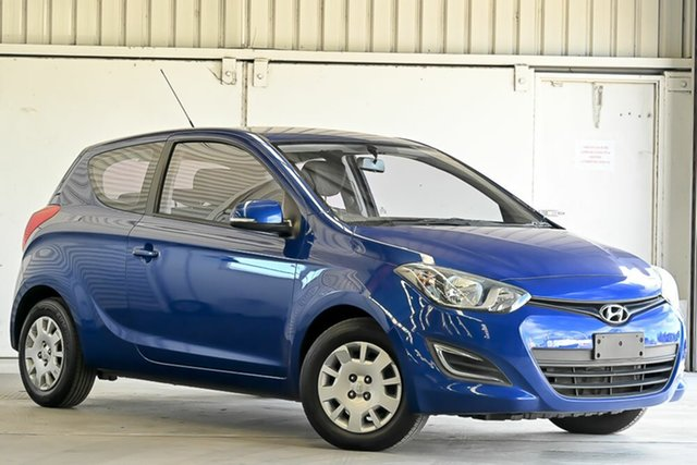Used Hyundai i20 PB MY15 Active Laverton North, 2015 Hyundai i20 PB MY15 Active Blue 4 Speed Automatic Hatchback