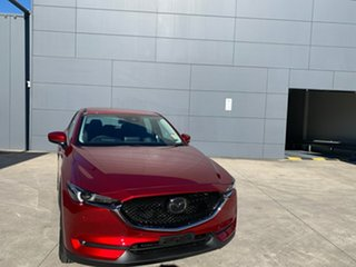 2021 Mazda CX-5 KF4WLA Touring SKYACTIV-Drive i-ACTIV AWD Soul Red Crystal 6 Speed Sports Automatic