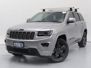 2015 Jeep Grand Cherokee WK MY15 Blackhawk (4x4) Silver 8 Speed Automatic Wagon.