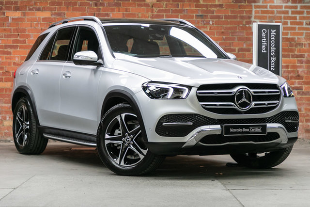 Certified Pre-Owned Mercedes-Benz GLE-Class V167 800+050MY GLE300 d 9G-Tronic 4MATIC Mulgrave, 2020 Mercedes-Benz GLE-Class V167 800+050MY GLE300 d 9G-Tronic 4MATIC Iridium Silver 9 Speed