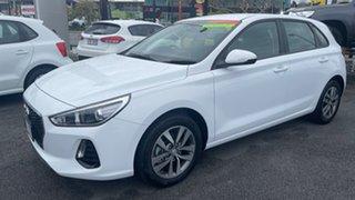 2020 Hyundai i30 PD2 MY20 Active Polar White 6 Speed Manual Hatchback.
