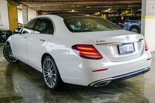 2019 Mercedes-Benz E-Class W213 800+050MY E300 9G-Tronic PLUS White 9 Speed Sports Automatic Sedan.