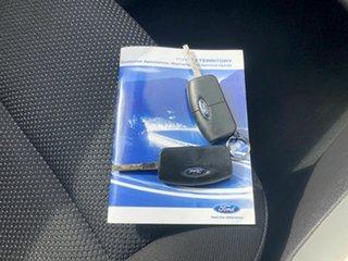 2011 Ford Territory SZ TS Seq Sport Shift Green 6 Speed Sports Automatic Wagon