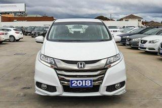 2017 Honda Odyssey RC MY18 VTi White 7 Speed Constant Variable Wagon