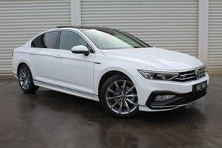 2021 Volkswagen Passat 3C (B8) MY21 162TSI DSG Elegance White 6 Speed Sports Automatic Dual Clutch.