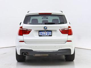2016 BMW X3 F25 MY16 xDrive20d White 8 Speed Automatic Wagon