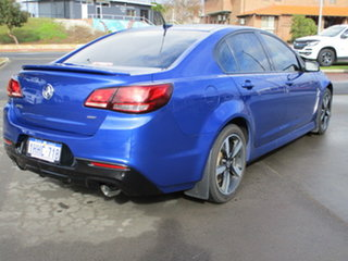 2017 Holden Commodore VFII MY17 SV6 Blue 6 Speed Sports Automatic Sedan