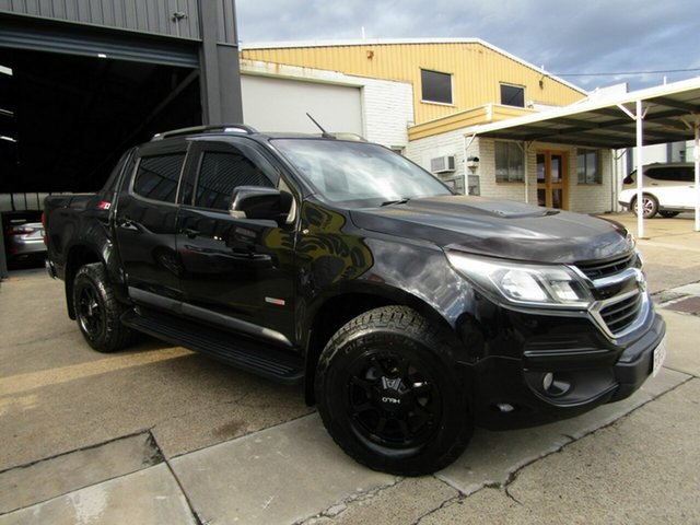 Used Holden Colorado RG MY17 Z71 Pickup Crew Cab Moorooka, 2017 Holden Colorado RG MY17 Z71 Pickup Crew Cab Black 6 Speed Sports Automatic Utility