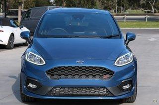 2020 Ford Fiesta WG 2021MY ST Blue 6 Speed Manual Hatchback.