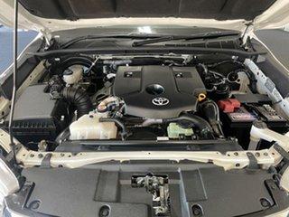 2019 Toyota Hilux GUN136R SR Double Cab 4x2 Hi-Rider White 6 Speed Manual Utility