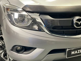 2017 Mazda BT-50 UR0YG1 XTR Silver 6 Speed Sports Automatic Utility.