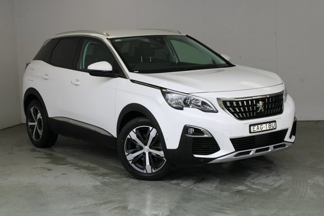 Used Peugeot 3008 P84 MY18 Allure SUV Phillip, 2017 Peugeot 3008 P84 MY18 Allure SUV Ewp - Banquise White Paint 6 Speed Sports Automatic Hatchback