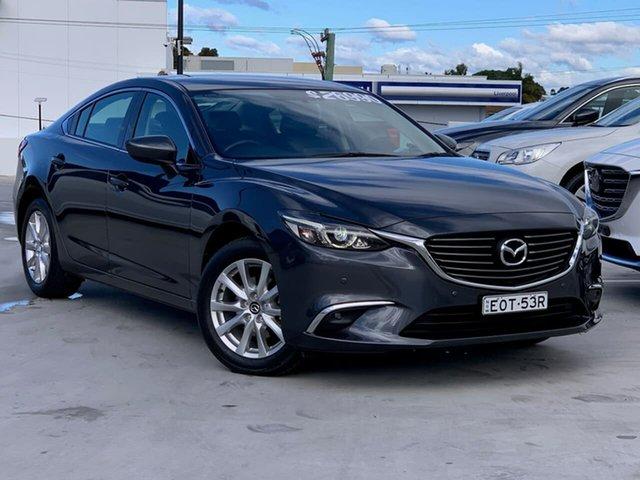Used Mazda 6 GJ1032 Touring SKYACTIV-Drive Liverpool, 2015 Mazda 6 GJ1032 Touring SKYACTIV-Drive Meteor Grey 6 Speed Sports Automatic Sedan