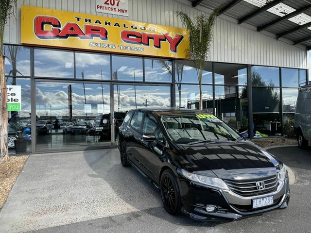 Used Honda Odyssey RB Luxury Traralgon, 2010 Honda Odyssey RB Luxury Black 5 Speed Automatic Wagon