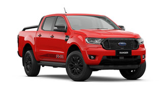 2021 Ford Ranger PX MkIII FX4 True Red 10 Speed Automatic Double Cab Pick Up.