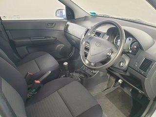 2006 Hyundai Getz TB MY06 Silver 5 Speed Manual Hatchback