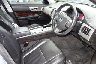 2009 Jaguar XF X250 MY10 Portfolio Silver 6 Speed Sports Automatic Sedan