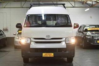 2017 Toyota HiAce KDH221R High Roof Super LWB White 4 Speed Automatic Van.