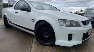 2010 Holden Commodore VE MY10 Omega White 4 Speed Automatic Utility.