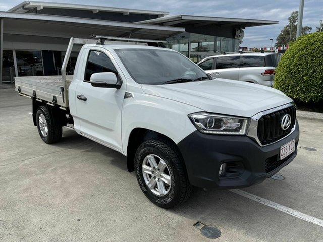 Used LDV T60 SK8C Pro Yamanto, 2017 LDV T60 SK8C Pro White 6 Speed Manual Cab Chassis