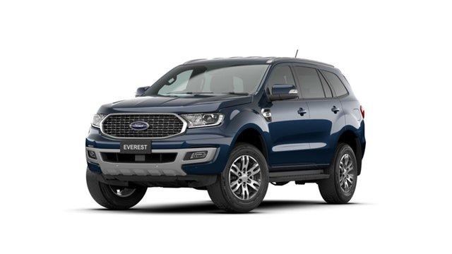 New Ford Everest UA II 2021.75MY Trend Ferntree Gully, 2021 Ford Everest UA II 2021.75MY Trend Blue 10 Speed Sports Automatic SUV