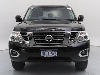 2018 Nissan Patrol Y62 Series 4 MY18 TI (4x4) Black 7 Speed Automatic Wagon.