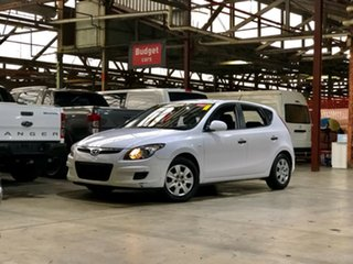 2013 Hyundai i20 PB MY13 Active White 4 Speed Automatic Hatchback.